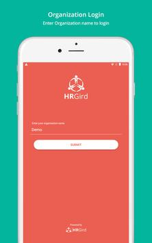 HRGird Online Attendance poster