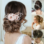 Women's wedding hairstyles icon