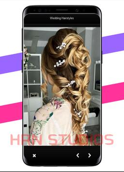 Women's wedding hairstyles poster