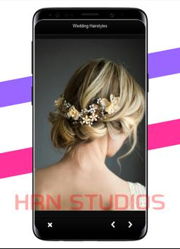 Women's wedding hairstyles screenshot 2