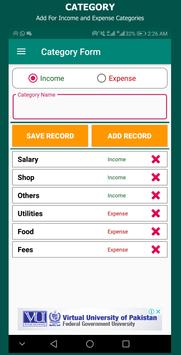 Expense Manager screenshot 1