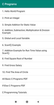 All Basic C Programs for Android - APK Download
