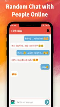 Random chat app - Anonymous chat with Strangers screenshot 3