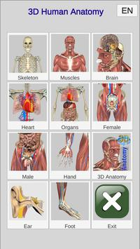 3D Bones and Organs (Anatomy) 截图 8