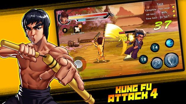 Kung Fu Attack 4 скриншот 4