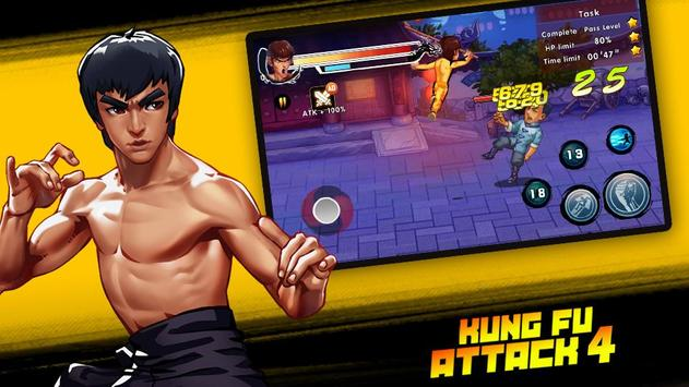 Kung Fu Attack 4 скриншот 7