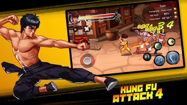 Kung Fu Attack 4 скриншот 2