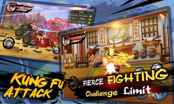 10 Schermata kung fu Attack: Offline Action RPG