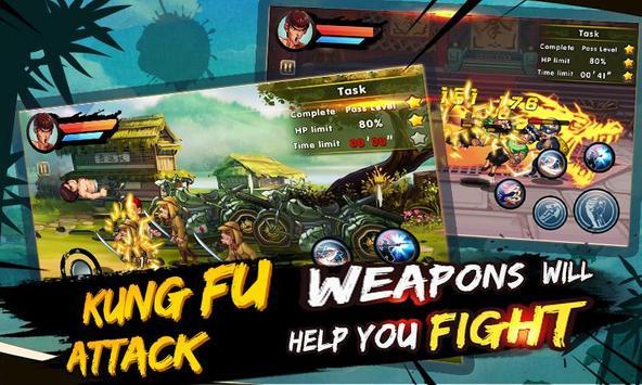 1 Schermata kung fu Attack: Offline Action RPG