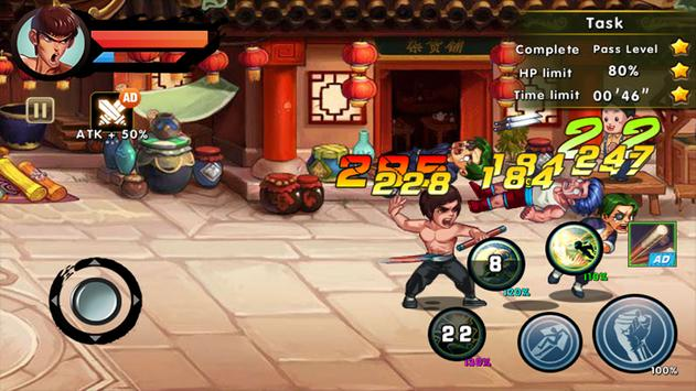 One Punch Boxing - Kung Fu Attack скриншот 2