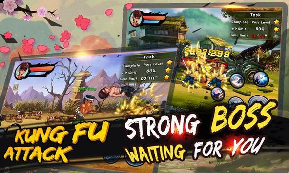 4 Schermata kung fu Attack: Offline Action RPG