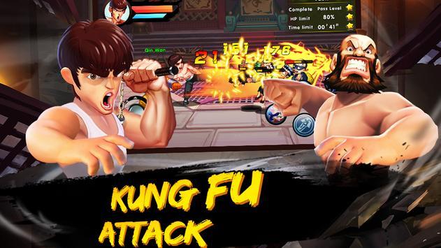 Kung Fu Attack captura de pantalla 4