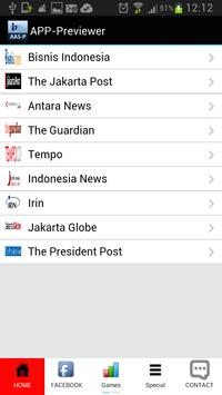 New Indonesia News screenshot 1