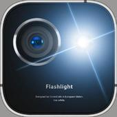 Flash Light+Camera+Clock icon