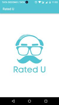 Rated U poster