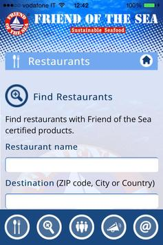Find Friend Of the Sea Seafood screenshot 1