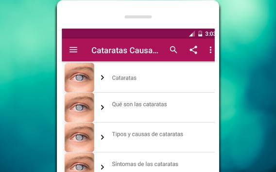 Cataratas Causas, síntomas y tratamiento screenshot 3