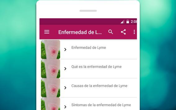 Enfermedad de Lyme Causas, síntomas y tratamiento screenshot 3