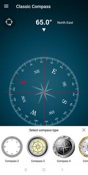 Digital Compass 360 Free - Compass Maps Pro screenshot 2