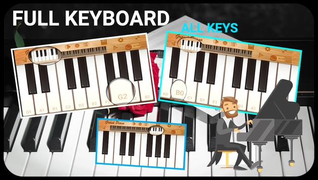 online piano keyboard -virtual piano full keyboard for Android - APK