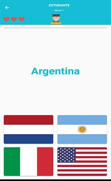 Banderas Y Lugares - Quiz screenshot 2