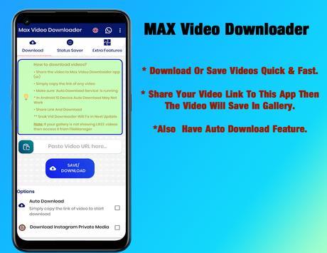 MAX Video Downloader - No Watermark poster
