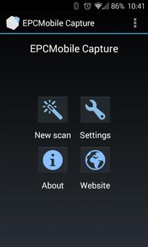 EPC Mobile Capture poster