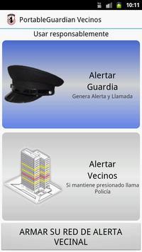 PortableGuardian Vecinos poster