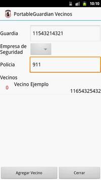 PortableGuardian Vecinos screenshot 1