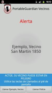 PortableGuardian Vecinos screenshot 2