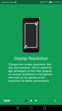 Screen Resolution Changer: Display Size & Density imagem de tela 15