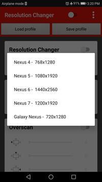 Screen Resolution Changer: Display Size & Density imagem de tela 16