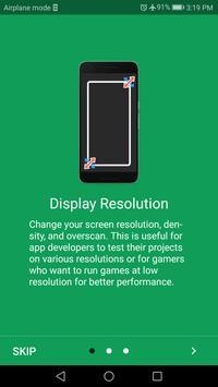 Screen Resolution Changer: Display Size & Density imagem de tela 1