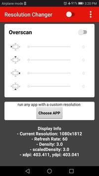 Screen Resolution Changer: Display Size & Density imagem de tela 2
