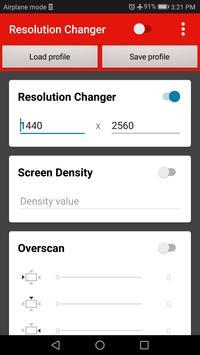Screen Resolution Changer: Display Size & Density imagem de tela 6