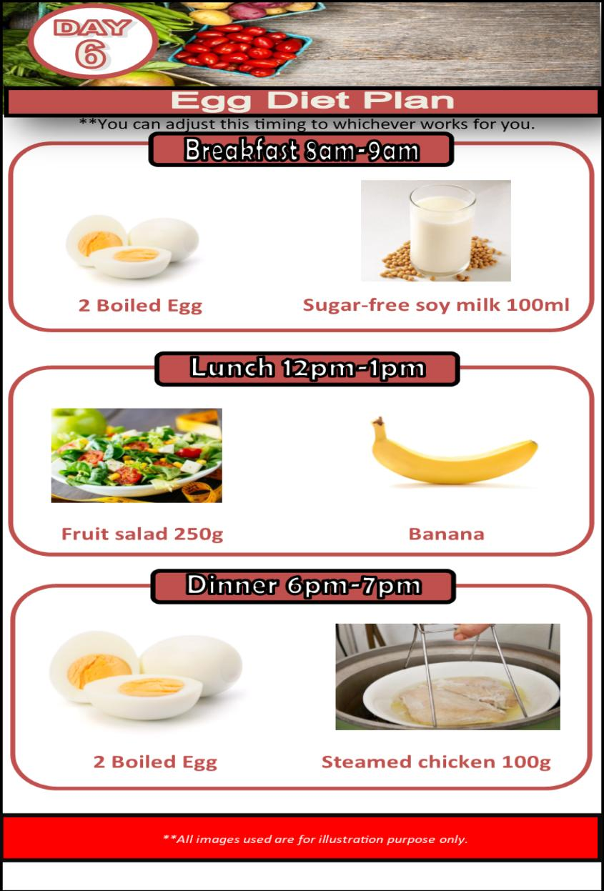 New Boiled Egg Weiaght Loss 7 Day Diet Plan For Android