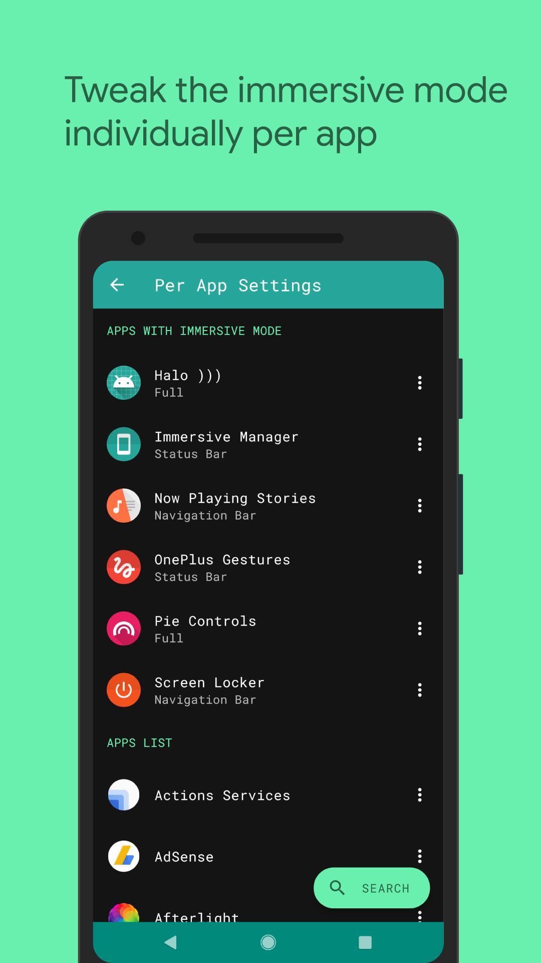 Immersive Mode Manager for Android - APK Download