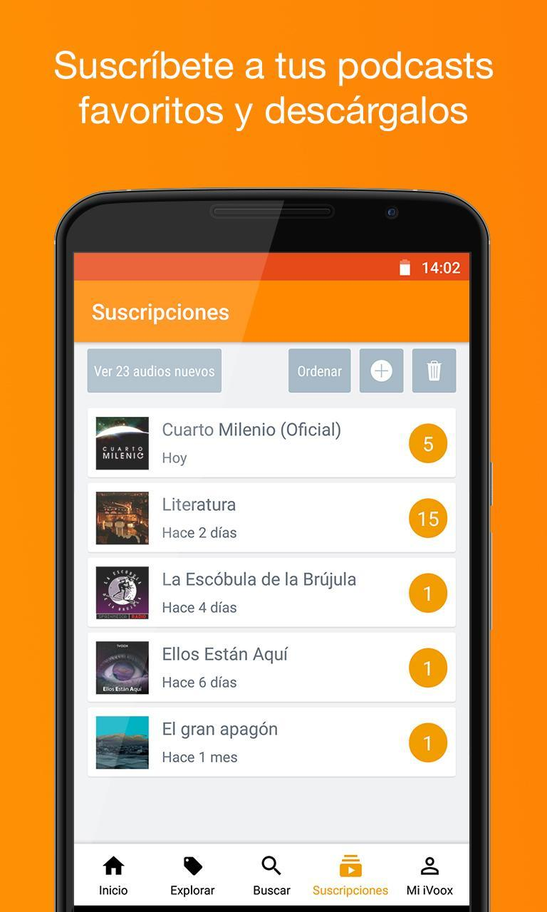 Podcast & Radio iVoox for Android - APK Download