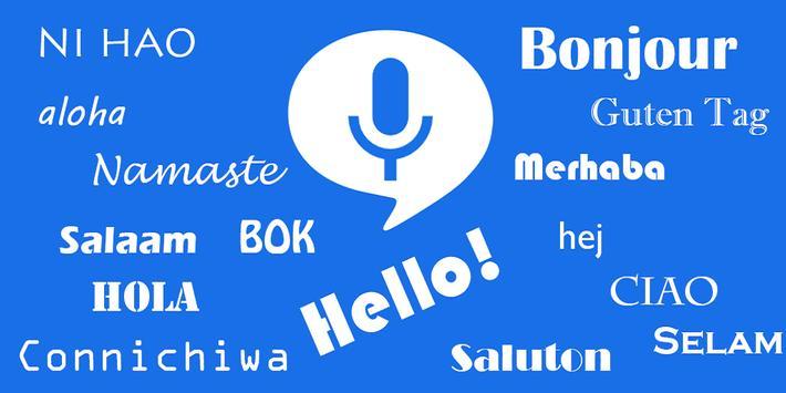 Speak and Translate Interpreter & Voice Translator poster