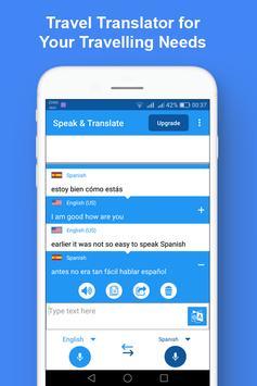 Speak and Translate Interpreter & Voice Translator screenshot 3
