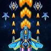 Galaxy sky shooting icono