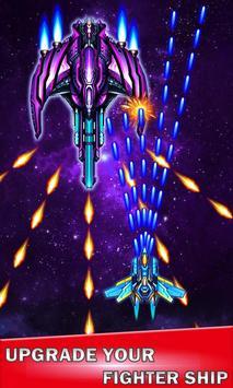 Galaxy sky shooting poster
