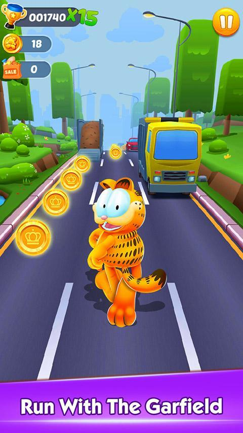Garfield Rush For Android Apk Download