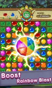 Gems & Jewels 2 - Match 3 Jungle Puzzle Game screenshot 1