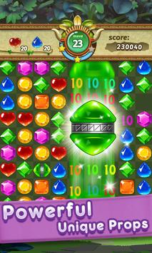 Gems & Jewels 2 - Match 3 Jungle Puzzle Game screenshot 2
