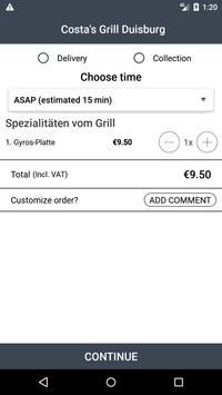 Costa's Grill Duisburg screenshot 2