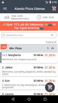 Alando Pizza Odense screenshot 1