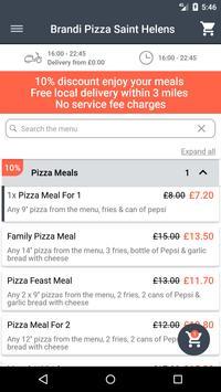 Brandi Pizza Saint Helens screenshot 1