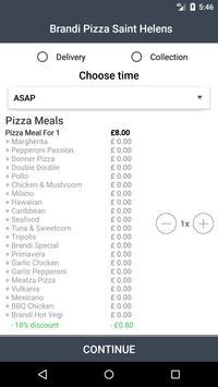 Brandi Pizza Saint Helens screenshot 2