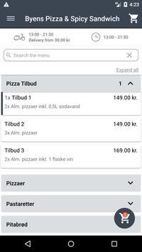 Byens Pizza & Spicy Sandwich screenshot 1